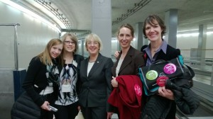The Nutrition First contingent with Senator Patty Murray